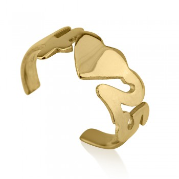 open heart initial ring