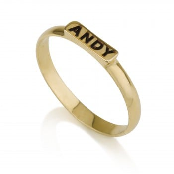 Simple but elegant gold ring