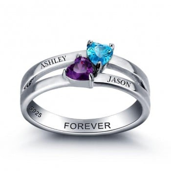 stylish couples ring