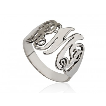 beautiful ring in sterling silver