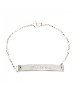 Bracelet with name