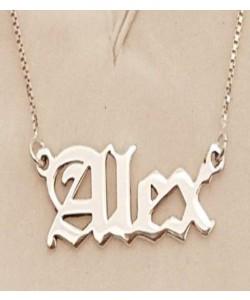 Alex Font Name Necklace