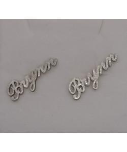 Sparkling Stud earrings Brynn - Sterling silver