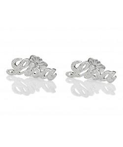 Sparkling Stud earrings - Sterling silver