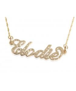 Laser cut stylish necklace