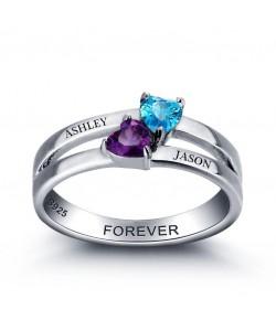 stylish couples ring
