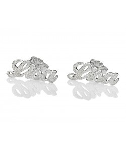 earrings up to 12 letters name