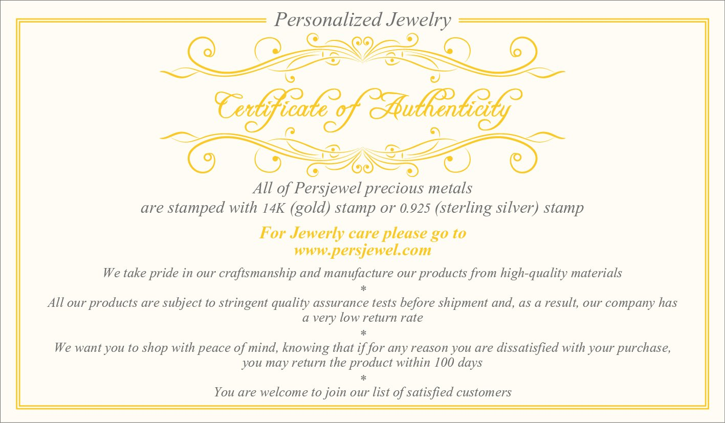 Certificate-of Authenticity-Persjewel-Monogrammed-jewelry