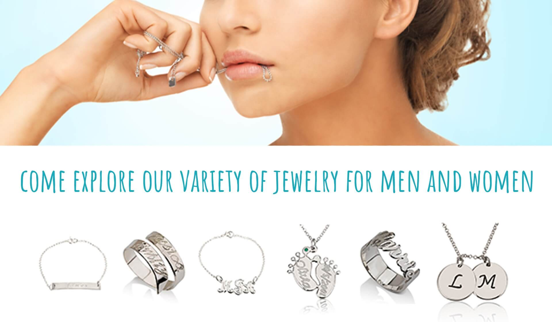 Explore our Jewelry